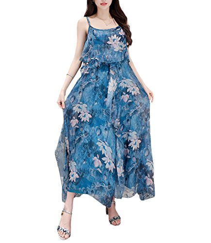 Leader of the Beauty - Vestido - trapecio - para mujer Azul