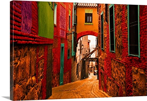 Ynon Mabat Premium Thick-Wrap Canvas Wall Art Print entitled Toledo, Spain IV by Canvas on Demand