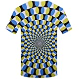 F_Gotal Unisex Short Sleeve T-Shirts 3D Novelty