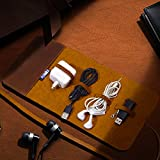 Travel Cord Organizer(Leather), Mens Accessories