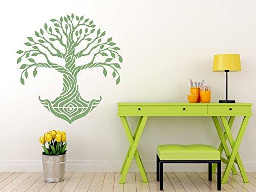 Arbre de vie M/édaillon Pochoir r/éutilisable A3/A4/A5/et plus grandes tailles D/écoration murale//Tol4 11.7 x 16.5 in Pochoir en PVC r/éutilisable 297 x 420 mm blanc A3 size