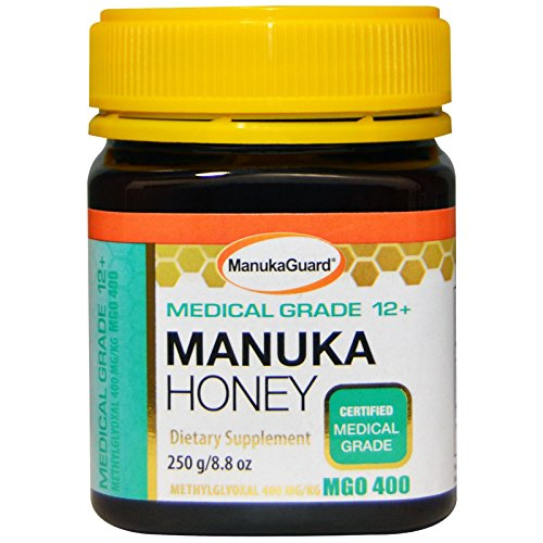 Manukaguard Medical Grade Manuka Honey 12+ Dietary Supplement, 8.8 Ounce by ManukaGuard