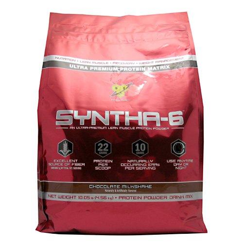 BSN Syntha-6 Chocolate Milkshake 10.05 lb (4.56 kg) by BSN INC.