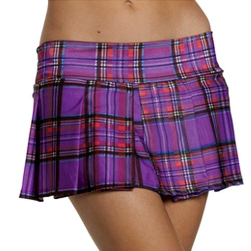 1446122a22 Amazon.com: Be Wicked Pleated Red Plaid School Girl Skirt: Health ...