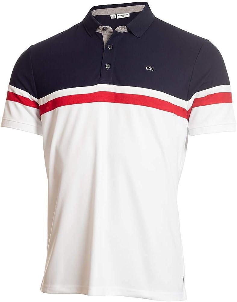Calvin Klein Golf - Polo para Hombre con Colgante, Talla S, Color ...