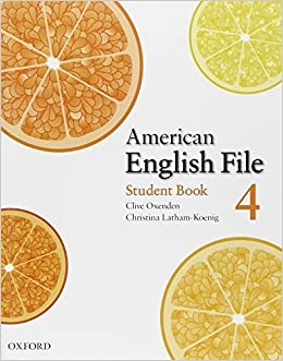 Book American English File 4 Student book by Clive Oxenden (2008-02-15)