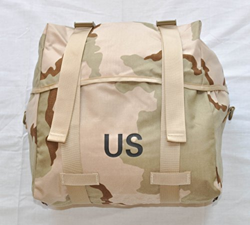 UPC 003489756154, US Military Issue 3 Color Desert DCU MOLLE II Sleeping Bag Carrier