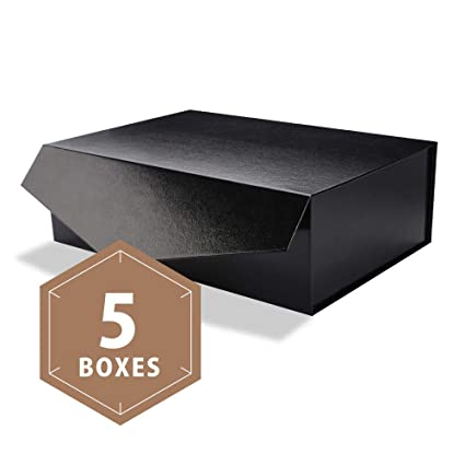 Packhome Large Gift Boxes Rectangular 14x9 5x4 5 Inches Bridesmaid Proposal Boxes Sturdy Storage Boxes Collapsible Gift Boxes With Magnetic Closure
