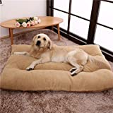 Kennel Removable and Washable Winter Warm Law Fighting Pet Mat Dog Bed Winter - 100Cm