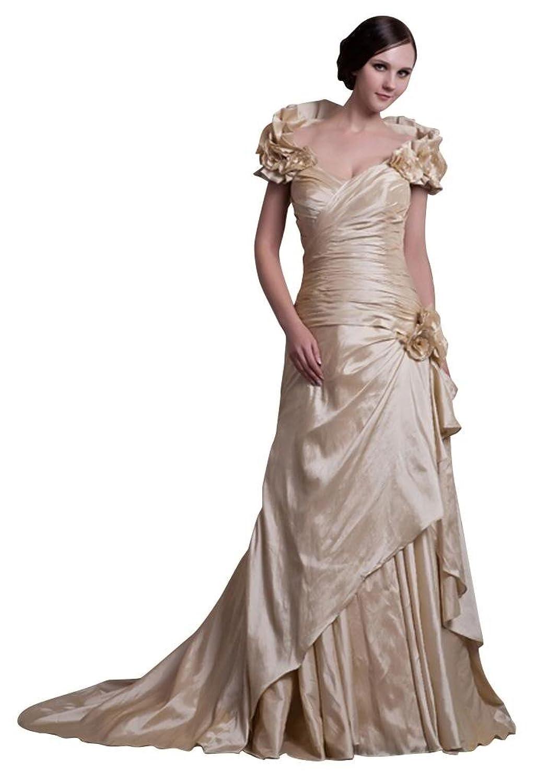GEORGE BRIDE Gorgeous Latest Design Formal Taffeta Evening Dress
