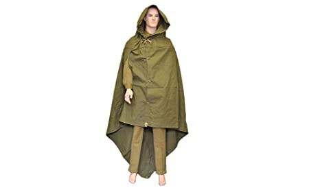 Made in USSR Original Soviet Russian Army WWII Type Soldier Field Canvas cloak tent Raincoat Poncho  sc 1 st  Amazon.com & Amazon.com: Made in USSR Original Soviet Russian Army WWII Type ...
