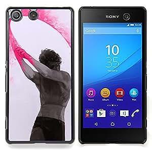 For Sony Xperia M5 E5603 E5606 E5653 Case , Pintura Arte Indio Holiday Hombre - Diseño Patrón Teléfono Caso Cubierta Case Bumper Duro Protección Case Cover Funda