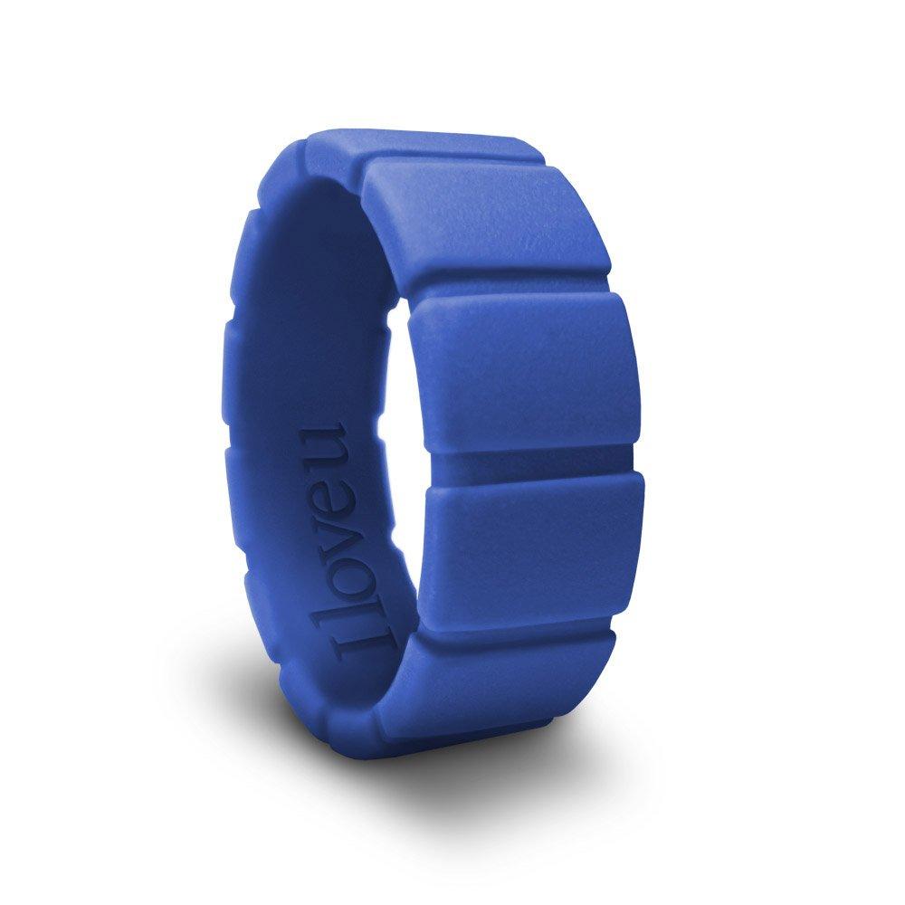 【在庫僅少】 azcoo – 100 %シリコンウェディングリング環境にやさしい非毒性メタルフリーニッケルフリー – B0776KHFCZ B0776KHFCZ ブルー 100 13 13|ブルー, スマホケースのLush-Intl:c81ce37f --- arianechie.dominiotemporario.com