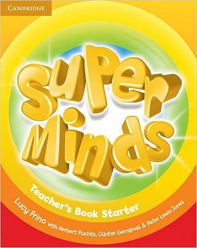 Super Minds Starter Teachers Book