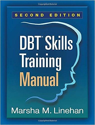 DBT (R) Skills Training Manual, Second Edition: Amazon.de: Marsha M ...