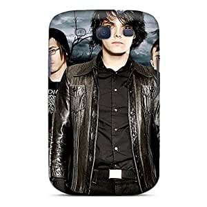 Shockproof Hard Phone Cover For Samsung Galaxy S3 (wXy7730CWyD) Customized Trendy My Chemical Romance Band Image