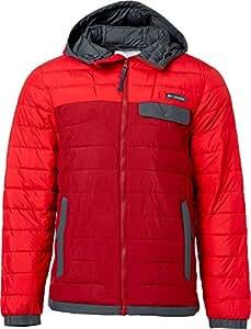 Columbia Men's Mountainside Full Zip Insulated Jacket (Beet, XXL)
