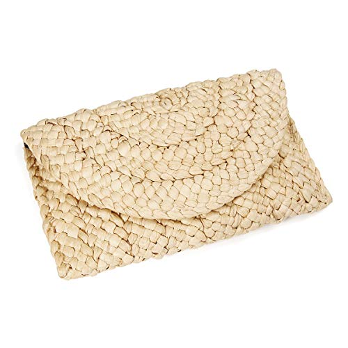 Straw Clutch Handbag OURBAG...