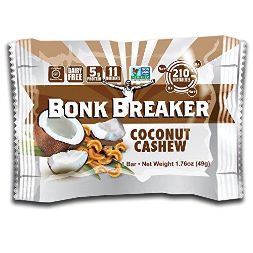 Bonk Breaker Energy Bars - 12 Pack - Coconut Cashew by Bonk Breaker