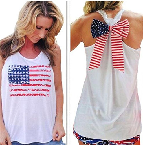 Bnice-Womens-American-Flag-Shirt-Casual-Patriotic-Camisole-Bow-Tank-Top
