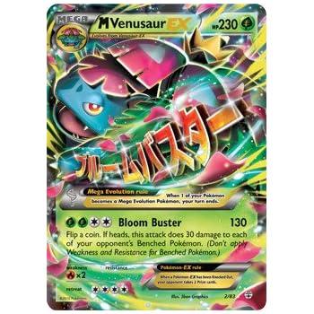 Amazon.com: XY Pokemon Card: Mega Venusaur EX Holo Rare #002 Japanese