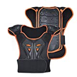 OHMOTOR Kid Body Armor Armour Jacket Children Chest Back Spine Protector Vest(Large)