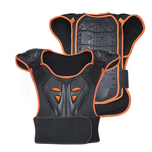 - OHMOTOR Kid Body Armor Armour Jacket Children Chest Back Spine Protector Vest (Small)