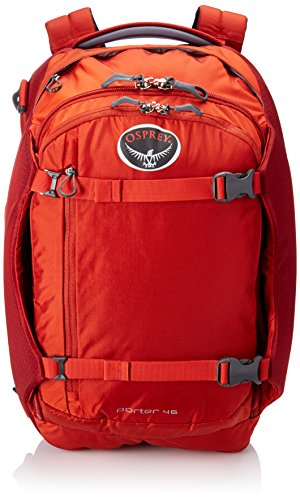 Osprey Porter 46 Travel Backpack (Hoodoo Red)