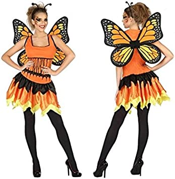Atosa-56787 Disfraz Mariposa, Color Naranja, XS-S (56787: Amazon ...
