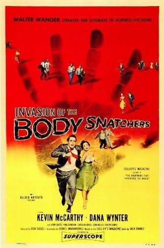 Invasion Of The Body Snatchers Movie Poster Insert 14inx36in Replica