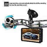 HD 1080P Wifi Car DVR Camera Video Recorder Dash Cam G-sensor With Rear Camera Durable