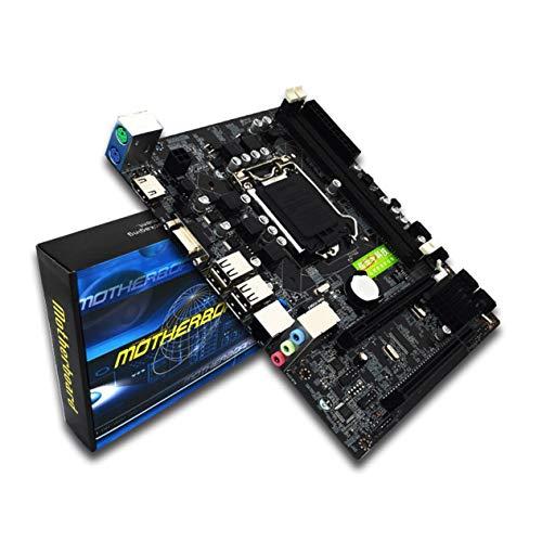 Professional Desktop Computer Motherboard for Intel H55 Socket HDMI LGA 1156 Pin Dual Channel DDR3 Mainboard with I/O Shield (Best Lga 1156 Motherboard)