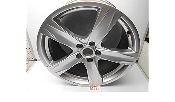Amazon Com 2013 Ford Mustang Oem 19 Inch Sparkle Silver 5 Spoke Wheel Automotive