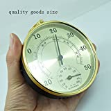 Best Garden Tools high precision household indoor Thermometer Hygrometer baby'room air psychrometer Aluminum shell