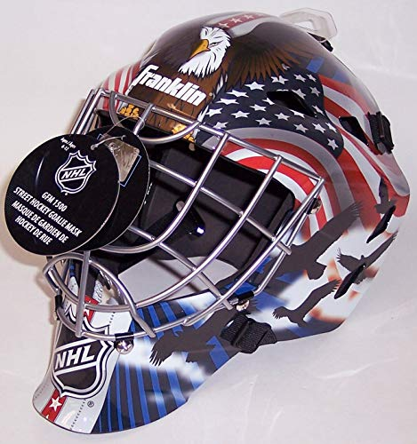 USA Red, White and Blue NHL Full Size Youth Goalie Hockey Mask - New with Tags - Not for Competitive Play