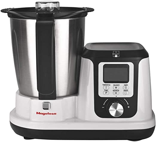 MAGEFESA 02RO4540000 02RO4540000-Robot de Cocina Modelo MAGCHEF White Plus MGF4540, Multicolor: Amazon.es: Hogar
