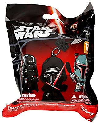 "Star Wars Figure Hangers Mystery Pack Set of 3 Packs ""Contains 3 Random Figures"""