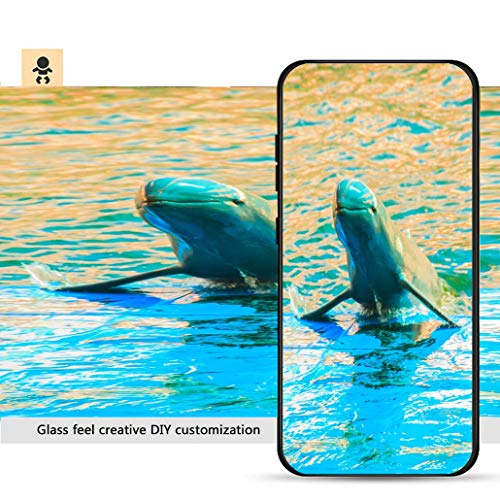 iPhone 7p / 8p Ultra-Thin Phone case Cute Irrawaddy Dolphin (Orcaella brevirostris) is Floating in The Water and Jumping to Dancing Resistance to Falling, Non-Slip, Soft, Convenient Protective - Dolphins Irrawaddy