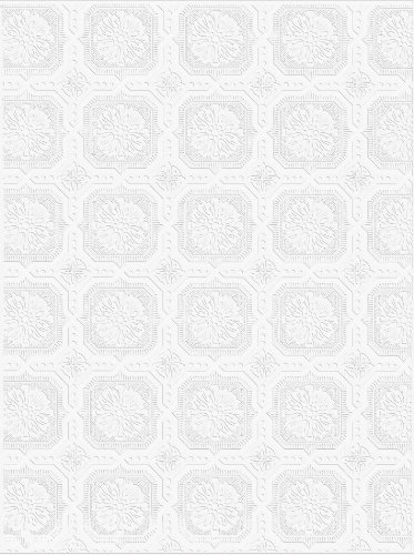 Graham and Brown 12011 Small Squares (Ceiling Texture Wallpaper)