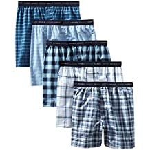 Hanes 745BP5 Classics Mens Tartan Boxers (Pack of 5)