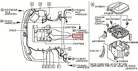 Amazon.com: Infiniti Genuine Engine Control Module Sub Knock ... on