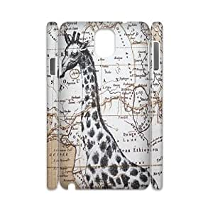 Giraffe Brand New 3D Cover Case for Samsung Galaxy Note 3 N9000,diy case cover ygtg561614