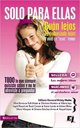 Solo para ellas (Especialidades Juveniles) (Spanish Edition): Kristy Motta: 0639390757340: Amazon.com: Books