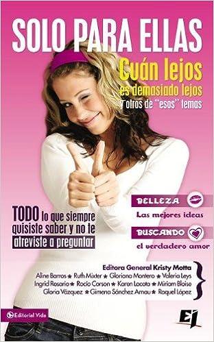 Solo para ellas (Especialidades Juveniles) (Spanish Edition ...