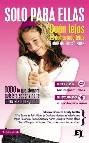 Download Solo para ellas (Especialidades Juveniles) (Spanish Edition) pdf epub