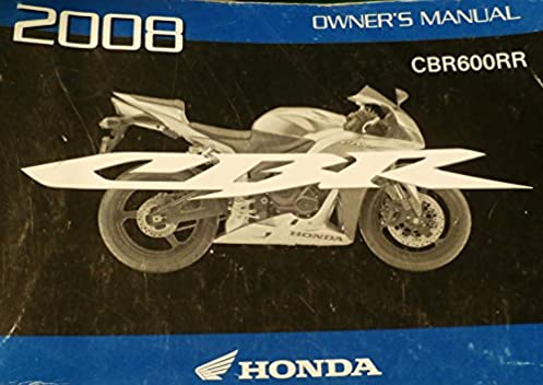 2008 honda cbr600rr owners manual good owner guide website