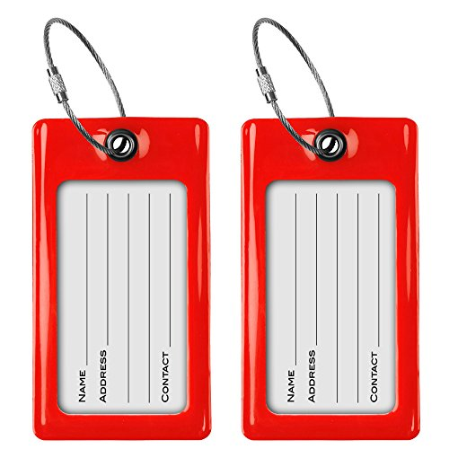 Luggage Tags TUFFTAAG, Business Card Holder, Suitcase Labels, Travel Accessories by ProudGuy (Image #2)