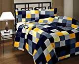 Factorywala Checked Print Reversible Poly Cotton AC Comfort/Blanket/Quilt (Single Bed)