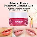 ANLOME Collagen Lip Sleep Mask, Lip Rescue
