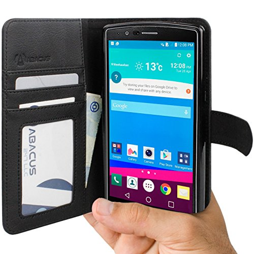 Abacus24 7 Wallet Cover Stand Black product image